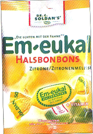 Dr. C. Soldan's Em-eukal Lemon Cough Drops