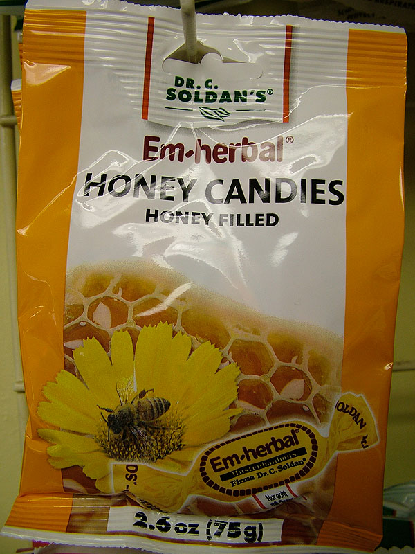 Dr. C. Soldan's Em-eukal Honey Filled Candies