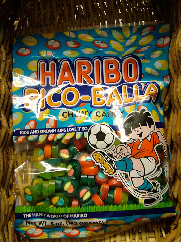 Haribo Pico-Balla Chewy Candy in bag, 142g